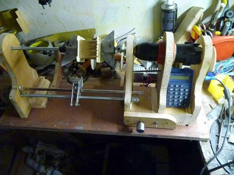 Станок для намотки катушек из принтера своими руками 95