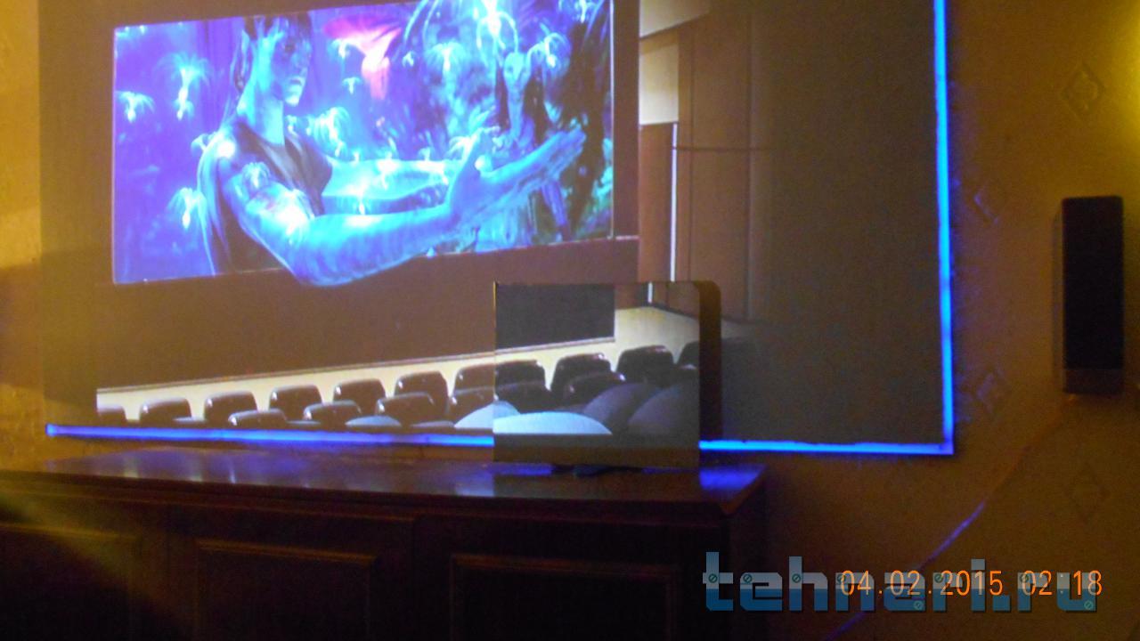 Экран проектора своими руками 139