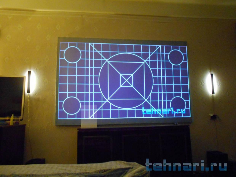 Экран проектора своими руками 49