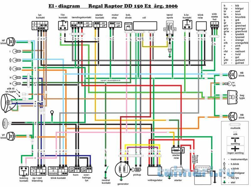 Схема проводки на viper sport