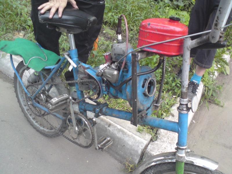 Велосипеды с двигателем своими руками