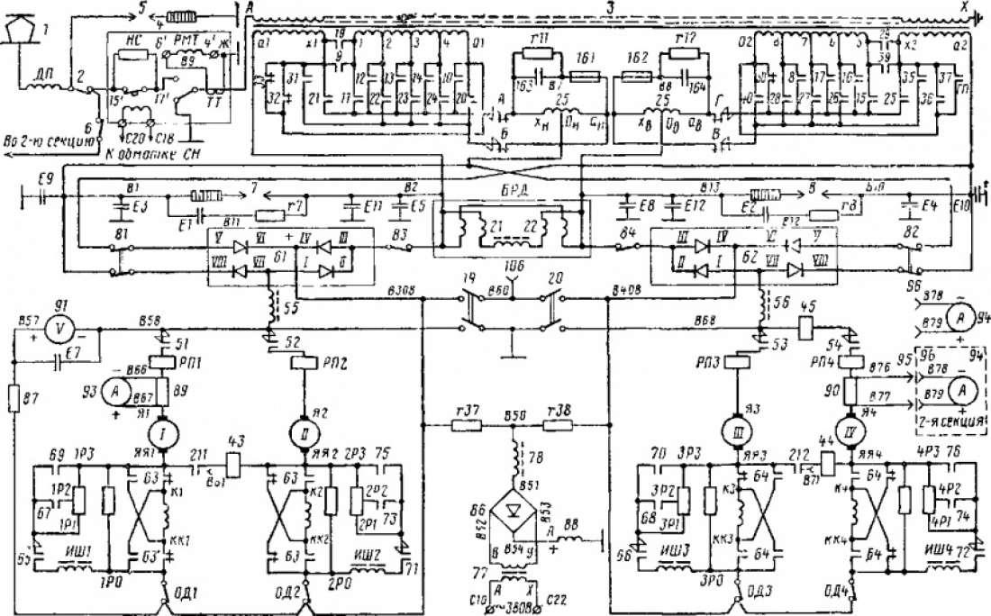электрическая схема вл80к