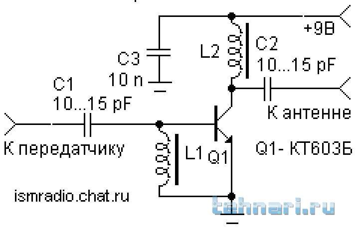 Транзисторные усилители вч своими руками