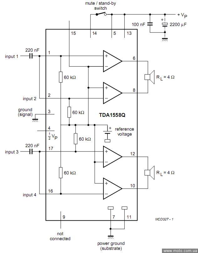 Технический форум - Показать сообщение отдельно - Болезни TDA1558Q.