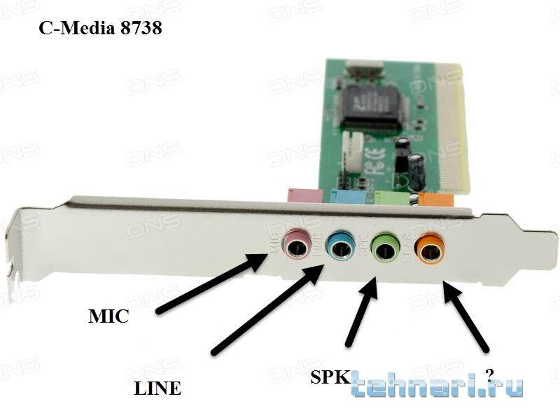 Cmi8338 c3dx pci audio device