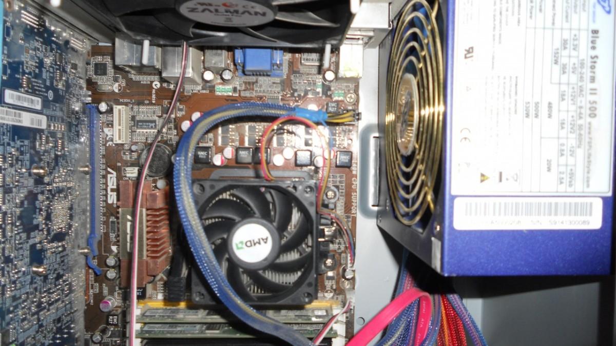 Компьютер нет сигнала на монитор 1