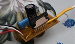 Вот мой вариант УНЧ на легендарной микросхеме TDA1558Q.  Добавлены шунтирующие резисторы на входе для уменьшения шума...