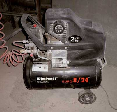 small compressor which costs 130 dollars