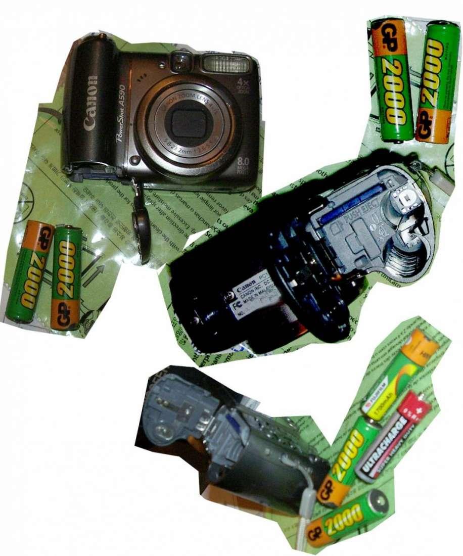 Фотоаппарат на батарейках быстро разряжается